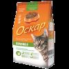 """Сухой корм """"Оскар"""" 400г Сенсетив д-кошек с чувст.пищев. и привередлив. МКБ"""