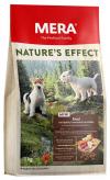 "Сухой корм ""Mera"" Nature`s Effect 1кг д-собак утка-розмарин-морковь-картофель"