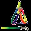 Triol Комплект поводок+ шлейка цветные блистер (SH784+SH785)