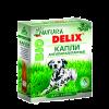 """Капли """"Delix Natura Bio"""" д-собак 3 пип.* 1.0мл на холку от блох,клещей (на основе природных компанентов)"""