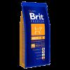 """Сухой корм """"Брит"""" Premium Nature Adalt 15кг Сеньёр д-собак средних  пород (10-25кг)"""