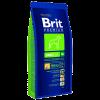 """Сухой корм """"Брит"""" Premium Nature Adalt 15кг д-собак гигантских пород (45-90кг) от 30мес- 5 лет"""