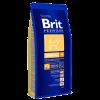 """Сухой корм """"Брит"""" Premium Nature Adalt  3кг д-собак средних пород (10-25кг) от 1-6 лет"""