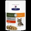 """Влаж. корм """"Хиллс"""" ПД 85г Meta метаболик +уринари д-кошек"""