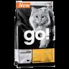 """Сухой корм """"Гоу"""" Sensitivities Gran Free Б/З 3,63кг д-котят/кошек чувств. пищеварение св. утка 31/15"""