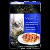 """Влажный корм """"Эдель Кэт"""" 100г пауч д-кошек  Нежные кусочки в соусе лосось-форель"""