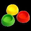 Миска для грызунов пластиковая  d-6см (3060)