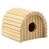 ЗооМарк Домик №0 (11*11.5*10см) д-грызунов деревянный