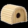 ЗооМарк Домик №3 (14*20*31см) д-грызунов деревянный