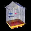 """Клетка """"Домик"""" для птиц  35*28*55"""