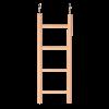 TRIXIE Лесенка д-попугаев 20см деревянная (5811)