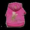АрниДог Кофточка c капюш/ розовая DOGGY JACRET (JA052 2-M)