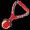 """Triol Игрушка-Грейфер """"Веревка цветная с мячом"""" с резиновой ручкой д-собак 26см (0105XJ)"""