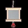 Игрушка  2008SY Зеркало деревянное с колокольчиком для птиц