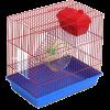 ЗооМарк Клетка д-грызунов 3-х этажная 36*24*38 (135)