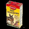 """Витамины """"Санал"""" 45г для кроликов ассорти ( йогурт,салат, морковь )"""