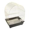 """Клетка для птиц 35*28*43 см """"золото """"крыша-купол"""