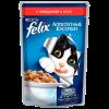 """Влажный корм """"Феликс"""" 85г д-кошек кусочки говядина в желе"""