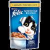 """Влажный корм """"Феликс"""" 85г д-кошек курица и томаты в желе"""