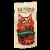 """Лакомства """"Molina """" 80г д-кошек утиные кусочки"""