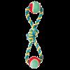 """Triol Игрушка-Грейфер """"Восьмерка"""" с двумя мячами д-собак 35см (0111XJ)"""