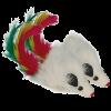 """Triol Игрушка """"Мышь погремушка с пером"""" д-кошек (SH 06)"""