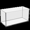 Аквариум прямоугольный 30л стекло (46,5*28,5*23)