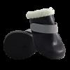 Ботинки Триол М черн.латекс с мехом на липучке (204YXS)