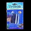 Скребок Тритон магнитный плавающий д-чистки аквариума 9,5*3,5*2,5