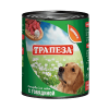 "Консервы ""Трапеза"" 750г д-собак говядина"