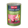"Консервы ""Animonda"" Gran Carno Superfoods 400г д-собак говядина-свекла-ежевика-одуванчик"