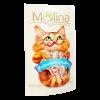 """Лакомства """"Molina """" 80г д-кошек куриный сэндвич"""