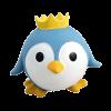 """ИгрушкаTriol """"Пингвиненок"""" из латекса 6,5см д-собак (LT262)"""