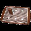 Triol Туалет д-собак большой со столбиком и сеткой 60*45см (PL-001)