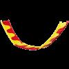 Лесенка ИМАК для грызунов(разноцветная)пластик.