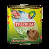 """Консервы """"Трапеза"""" 750г д-собак мясное трио"""