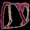 Шлейка Гамма кожа двойная 4 регулер. стразы (621214sw)