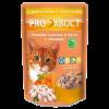 ПроХвост пауч д-кошек   цыпленок-перепелка в желе100 гр.