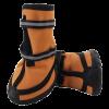 Ботинки Триол 7S оранж\черн. неопрен 2 ленты -застежки на липучках светоотр. (YXS138)