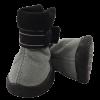 Triol Ботинки №4 серые-черн. замша 1лента-застежка на липучке (YXS144)