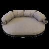 ГАММА Лежак-диван №1 д-собак 650*500*80 велюр (Дг-17300)