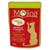 """Влажн.корм """"Молина"""" 100г пауч д-кошек цыпленок-говядина в соусе"""