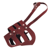 ГАММА Намордник №4 кожанный цельнокройный д-собак 590мм (Цн-01500)