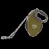 """Рулетка """"Флекси"""" Grant XL ремень 8м до 50кг д-особо крупных и сильных собак оливковая"""