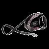 """Рулетка """"Флекси"""" Glam Composition Small ремень 3м до 12кг с кожан.отдел.и стразами Swarovski"""