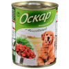 "Консер.корм ""Оскар"" 750г д-собак телятина"