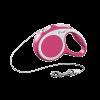 "Рулетка ""Флекси"" Vario XS трос 3м до 8кг розовая"