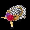Бантик д-собак Шляпка  (SWE0042)