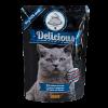 """Консервы """"Томи"""" Delicious «Норвежская кухня» 100г пауч д-кошек лосось-форель"""