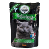 "Консервы ""Томи"" Delicious «Французкая кухня» 100г пауч д-кошек телят-утка-прованс.травы"